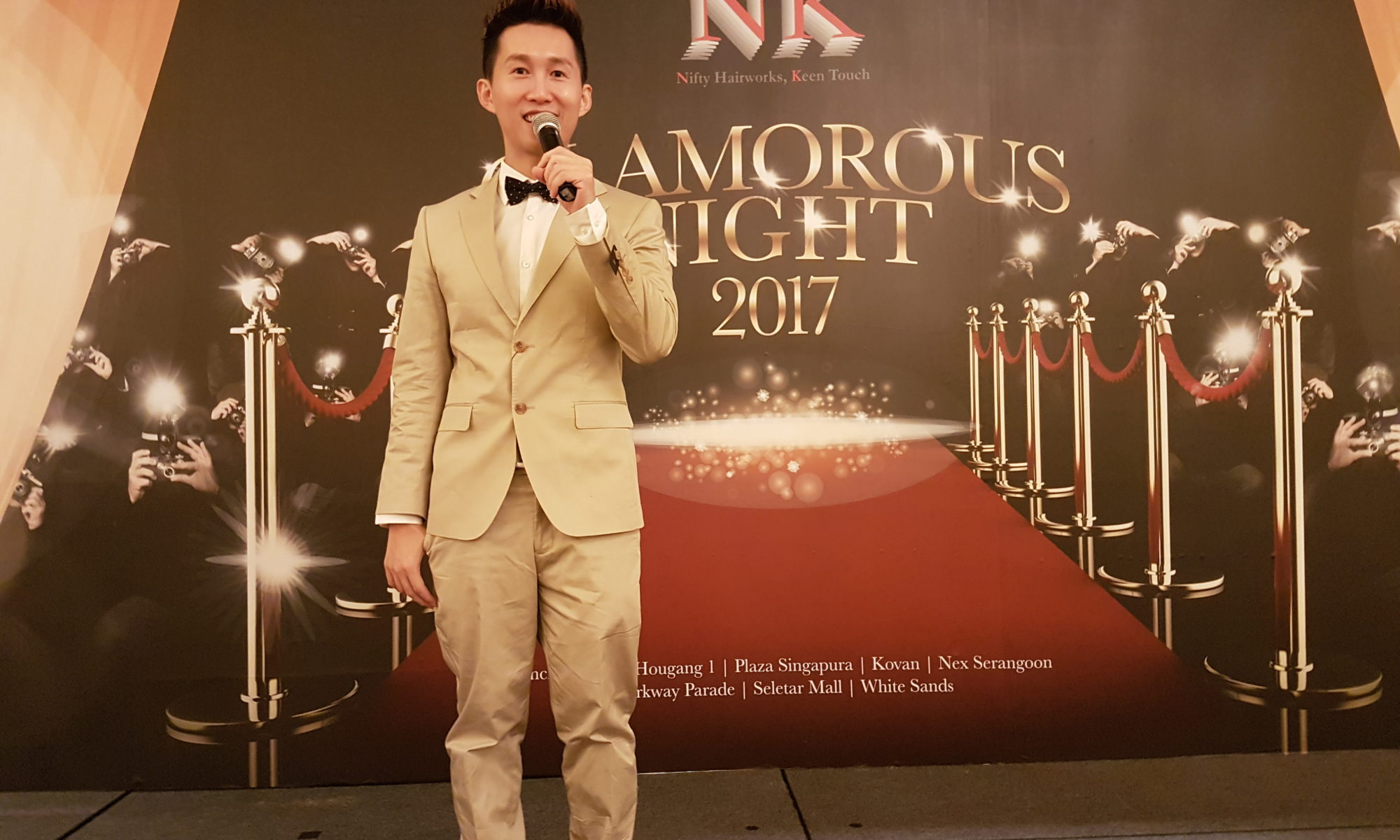 Jim Koh Hosting NK Hairworks DND 2017